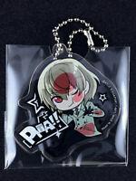 Persona 5 Pita! Deforme Acrylic Key Chain T-ARTS Crow Goro Akechi New