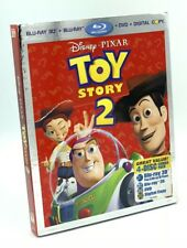 Toy Story 2 in 3D (Blu-ray 3D+Blu-ray+DVD+Digital Copy*) NEW w/ Slipcover OOP!