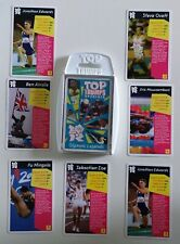 TOP TRUMPS 2010 UK 'OLYMPIC LEGENDS + 7 'OLYMPIC LEGENDS' EXCLUSIVE STT CARDS
