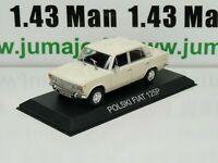 IT20G Voiture 1/43 IXO DEAGOSTINI Balkans : ZASTAVA 1300 (Fiat 1300)
