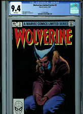 Wolverine Limited Series #3 CGC 9.4 NM 1982  Marvel Comic Amricons K4