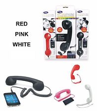 3.5mm Retro Radiation Proof Mic Phone Handset Telephone For iPhone Android UK