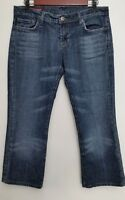 Citizens of Humanity Jeans Womens 30 Kelly 001 Stretch Low Waist Boot Cut Crop