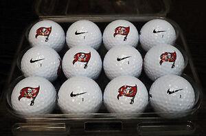 3 Dozen (Tampa Bay Buccaneers NFL Logo) Nike MOJO Mint Used Golf Balls