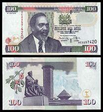 Kenia - Kenya  100 Shilingi  16-7-2010  Pick 48e   SC = UNC