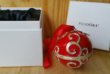 BLACK FRIDAY 2017 PANDORA Red Enamel CHRISTMAS Charm HOLIDAY ROCKETTES ORNAMENT