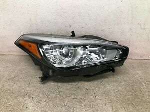15 16 17 18 19 Infiniti Q70 Right Passenger Side Headlight LED NON Adaptive OEM