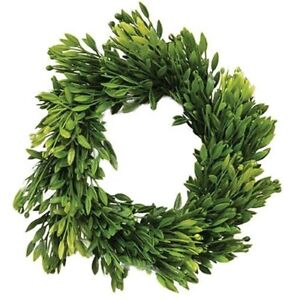 "Greenery-Seed Head-Candle Ring Wreath-Faux- 3.5"" inside x 8"" outside-Farmhouse"