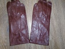 More details for raf or army mens brown leather officers gloves size 9.5 genuine issue new