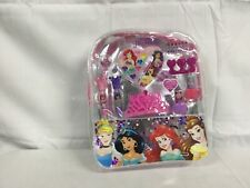 Townley Girl Disney Princess Cosmetic Backpack, 10 CT