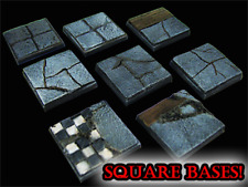 25mm Dungeon Floor Square Miniature Bases STONES DUNGEON TILES FRONTLINE GAMES