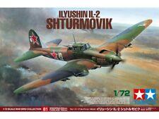 Tamiya 60781 Ilyushin IL-2 Shturmovik 1/72 Model Kit NIB