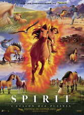 SPIRIT: STALLION OF THE CIMARRON Movie Promo POSTER French Matt Damon