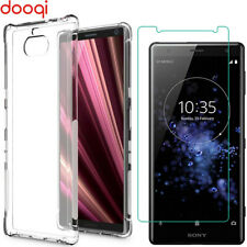 For Sony Xperia 10 Plus/XA2 XA3 Ultra/XZ2/1 Shockproof Case Cover+Tempered Glass