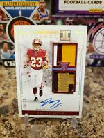 🔥BRYCE LOVE IMPECCABLE ROOKIE 5 COLOR DUAL PATCH ON CARD AUTO /25 REDSKINS🔥