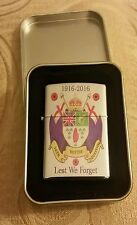36th ulster division 1916-2016 cigarette lighter complete with free gift case