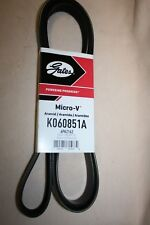 Serpentine Belt-Premium OE Micro-V Belt Gates K060851A FREE SHIPPING in the USA