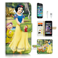 ( For iPhone 6 / 6S ) Wallet Case Cover P3573 Snow White