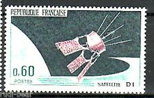 Frankreich   Nr. 1539 **  Start des Satelliten D1