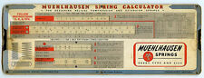 1942 Muehlhausen Spring Calculator for Helical Compression and Extension Springs