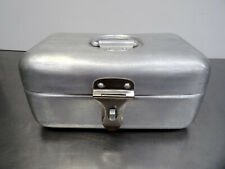 Antiker Aluminium Brot Kasten Alu Brotkasten Frankfurter Küche Art Deco 1920-30