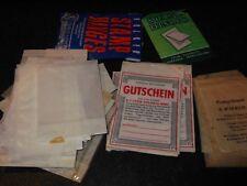 Vintage Stamp Hinges And Bags