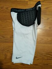 Boys Nike Pro Combat Hip and Back Padded Pants Compression Shorts Small