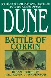 Dune: The Battle Of Corrin Hardback By Brian Herbert & Kevin J. Anderson. USPS..