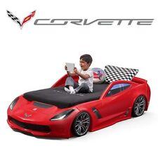 ⭐Kinderbett Corvette Z06⭐Bett Autobett Kinderbett Spielbett Rennautobett in Rot
