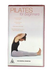 Pilates For Beginners VHS Retro Vintage Video Cassette (new)