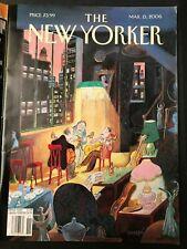 Magazine Journal THE NEW YORKER mars 2006 Sempé