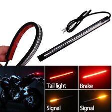 For BMW Motor 48 LED Red Bar For  Brake Tail Light Left/ Right Turn Signal Lamp