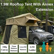 Rooftop Roof Top Tent 3.1x1.9M Camper Trailer 4WD 4X4 Camping Car With Annex