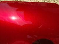 Peinture carrosserie: toutes teintes ROUGE CANDY tri-couche HONDA R101CU R320P