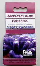Preis Aquaristik  Easy Glue purple NANO 2x30g Korallenkleber  16,50€/100g