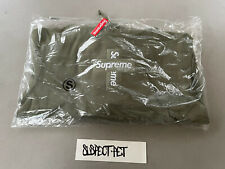 Supreme Cross Box Logo Light Olive Green Hoodie SMALL IN HAND S