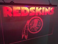 Redskins Led Neon Light Sign Game Room Man Cave