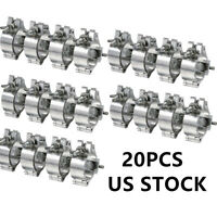 2 Inch Global Truss O Clamp Hooks Aluminum Alloy Stage Lighting Mount 20 Pack