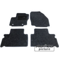 Kit 4 Tappeti Tappetini in tessuto specifici X Ford Galaxy / S-Max