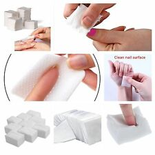 900 LINT FREE NAIL WIPES PADS ART GEL ACRYLIC. POLISH REMOVER PEDICURE MANICURE