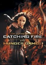 HUNGER GAMES, THE & CATCHING FIRE Double Feature (Bonus LED Keychain) DVD NEW