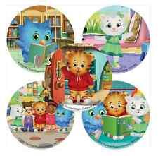"""25 Daniel Tiger Stickers, 2.5""""x2.5"""" ea., Party Favors"""