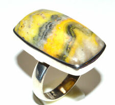 Indonesian Bumble Bee 925 Sterling Silver Ring Jewelry s.8 JB16521