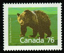 Canada sc#1178 Wildlife - Mammals : Grizzly Bear, Mint-Nh