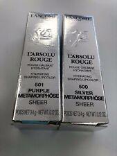 L'Absolu Rouge Hydrating Lipcolor 500/501/368/130/135/264 FS NIB * Pick Color
