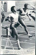 1972 Reynaud Robinson 100 Meter Olympic Qualifying Race Press Photo