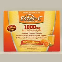 Ester-C Effervescent 1000mg Orange American Health Products 21 Pack