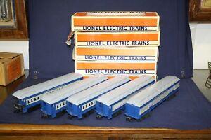 Lionel 16075-79 Five Car Missouri Pacific Passenger Car Set   LNOBs