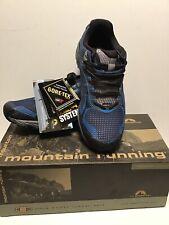 La Sportiva Wildcat 2.0 GTX Trail Running Shoes Men Black/Blue GoreTex Hike 6