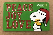 SNOOPY AND WOODSTOCK GIFT CARD COLLECTING